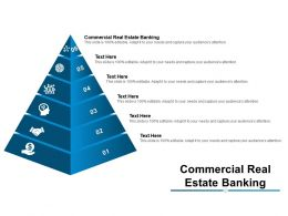Commercial Real Estate Banking Ppt Powerpoint Presentation Visual Aids Summary Cpb