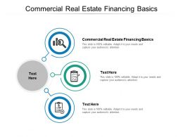 Commercial Real Estate Financing Basics Ppt Powerpoint Presentation Layouts Cpb