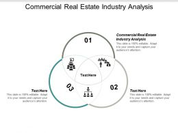 Commercial Real Estate Industry Analysis Ppt Powerpoint Presentation File Ideas Cpb