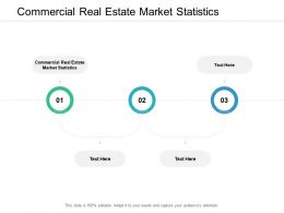 Commercial Real Estate Market Statistics Ppt Powerpoint Presentation Infographic Template Graphics Design Cpb
