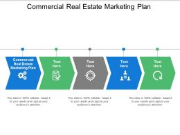 Commercial Real Estate Marketing Plan Ppt Powerpoint Presentation Infographic Template Cpb