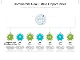Commercial Real Estate Opportunities Ppt Powerpoint Presentation Visual Aids Show Cpb