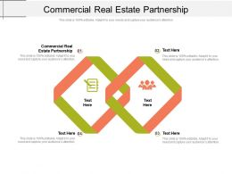Commercial Real Estate Partnership Ppt Powerpoint Presentation Summary Outfit Cpb