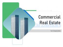 Commercial Real Estate Powerpoint Presentation Slides
