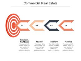Commercial Real Estate Ppt Powerpoint Presentation File Gridlines Cpb