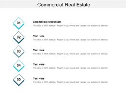 Commercial Real Estate Ppt Powerpoint Presentation Gallery Themes Cpb