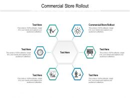 Commercial Store Rollout Ppt Powerpoint Presentation Styles Designs Download Cpb