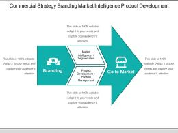 Commercial Strategy Branding Market Intelligence Product Development