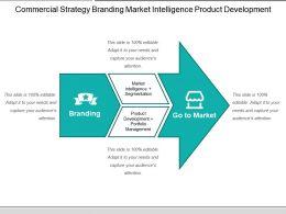 Commercial Strategy Branding Market Intelligence Product Development