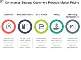 Commercial Strategy Customers Products Market Pricing