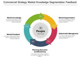 Commercial Strategy Market Knowledge Segmentation Feedback