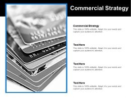 Commercial Strategy Ppt Powerpoint Presentation File Samples Cpb