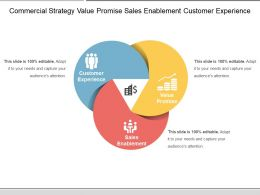 Commercial Strategy Value Promise Sales Enablement Customer Experience