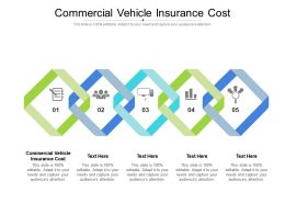 Commercial Vehicle Insurance Cost Ppt Powerpoint Presentation Model Professional Cpb