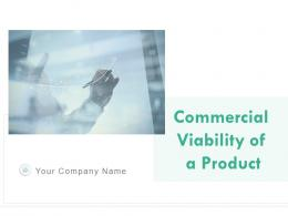Commercial Viability Of A Product Powerpoint Presentation Slides