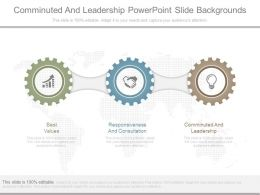 Comminuted And Leadership Powerpoint Slide Backgrounds