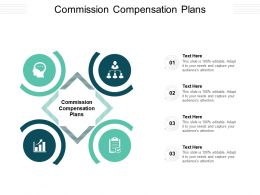 Commission Compensation Plans Ppt Powerpoint Presentation Outline Gridlines Cpb