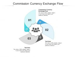 Commission Currency Exchange Flow Ppt Powerpoint Presentation Ideas Sample Cpb