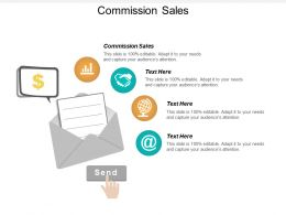 Commission Sales Ppt Powerpoint Presentation Infographic Template Master Slide Cpb