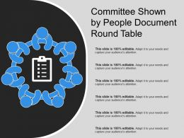 Committee Shown By People Document Round Table