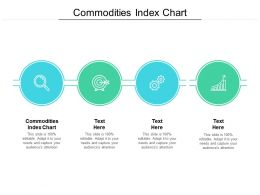 Commodities Index Chart Ppt Powerpoint Presentation Pictures Brochure Cpb
