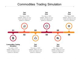 Commodities Trading Simulation Ppt Powerpoint Presentation Summary Example Cpb