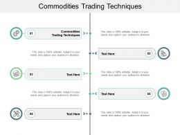 Commodities Trading Techniques Ppt Powerpoint Presentation Example Cpb