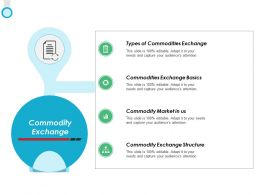Commodity Exchange Commodities Exchange Ppt Powerpoint Presentation File