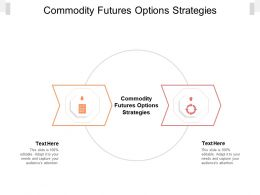 Commodity Futures Options Strategies Ppt Powerpoint Presentation Ideas Aids Cpb