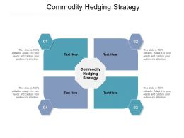 Commodity Hedging Strategy Ppt Powerpoint Presentation Inspiration Gallery Cpb