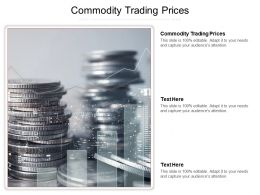 Commodity Trading Prices Ppt Powerpoint Presentation Portfolio Graphics Cpb