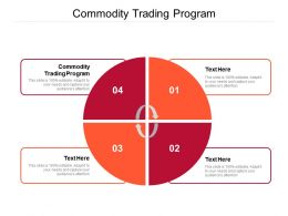 Commodity Trading Program Ppt Powerpoint Presentation Styles Introduction Cpb