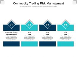 Commodity Trading Risk Management Ppt Powerpoint Presentation Outline Show Cpb