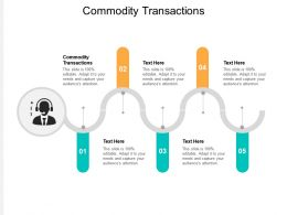 Commodity Transactions Ppt Powerpoint Presentation Pictures Graphics Cpb