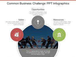 Common Business Challenge Ppt Infographics