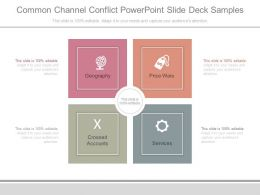 Common Channel Conflict Powerpoint Slide Deck Samples
