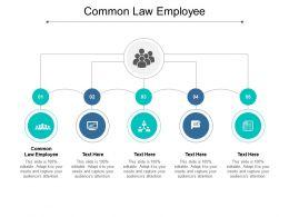 Common Law Employee Ppt Powerpoint Presentation Infographics Portfolio Cpb