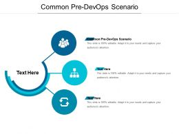 Common Pre Devops Scenario Ppt Powerpoint Presentation Portfolio Example Cpb