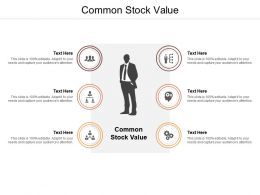 Common Stock Value Ppt Powerpoint Presentation Model Slides Cpb
