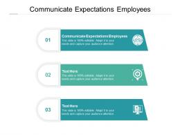 Communicate Expectations Employees Ppt Powerpoint Presentation Professional Cpb