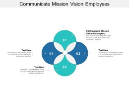 Communicate Mission Vision Employees Ppt Powerpoint Presentation Inspiration Designs Download Cpb
