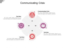 Communicating Crisis Ppt Powerpoint Presentation Inspiration Skills Cpb