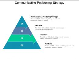 Communicating Positioning Strategy Ppt Powerpoint Presentation Layouts Example Topics Cpb