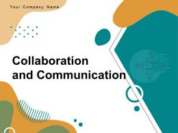 Communication And Collaboration Entrepreneurs Business Partnership Successful Goal Strategies