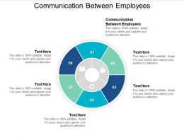Communication Between Employees Ppt Powerpoint Presentation Professional Visual Cpb