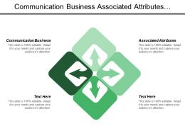 Communication Business Associated Attributes Visual Inspection Targeting Branding