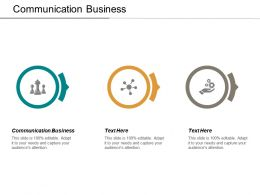 Communication Business Ppt Powerpoint Presentation Model Picture Cpb