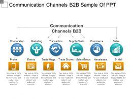 communication_channels_b2b_sample_of_ppt_Slide01