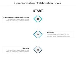 Communication Collaboration Tools Ppt Powerpoint Presentation Gallery Graphics Template Cpb