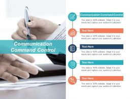 Communication Command Control Ppt Powerpoint Presentation Icon Slide Portrait Cpb